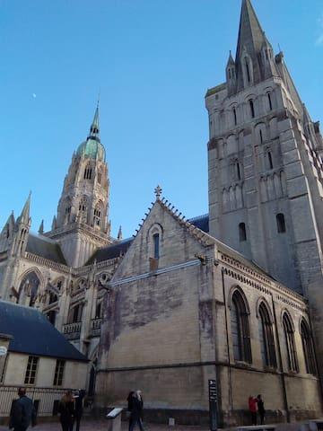 Bayeux centre historique, Duplex de charme, 55m2