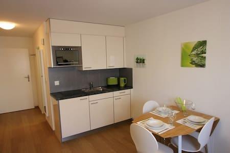 Moderne, einfache und ruhige 1.5 Zimmer Wohnung