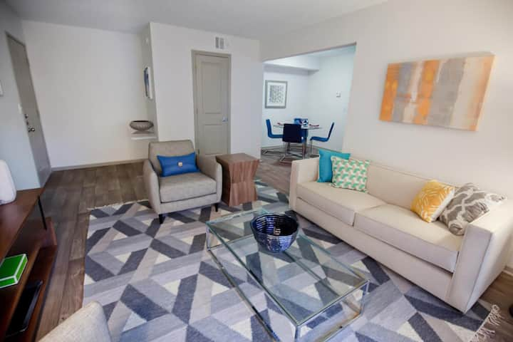 Fully equipped apartment home | 2BR in Las Colinas