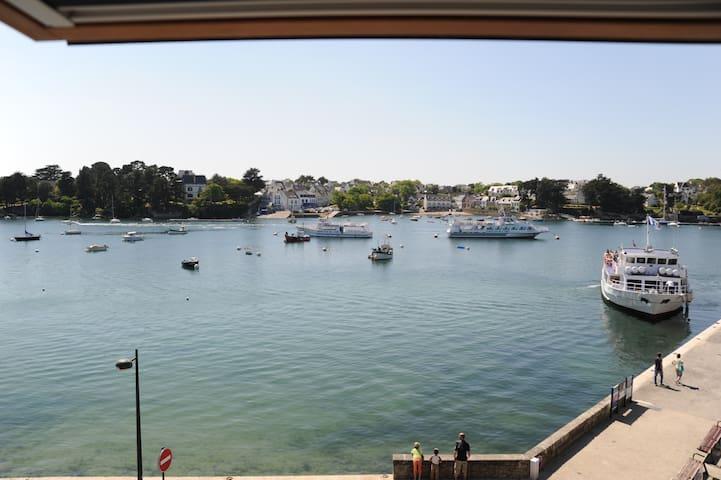 Bel appartement vue sur l'odet au coeur de Bénodet - Bénodet - Daire