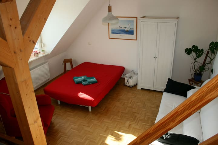 Charming Studio Apartment - Leipzig - Byt