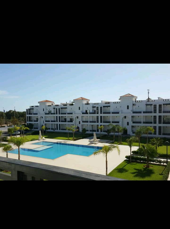 Appartement haut standing marina saidia piscine