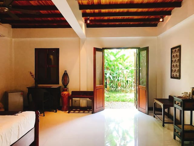 Frangipani Spa Guest room