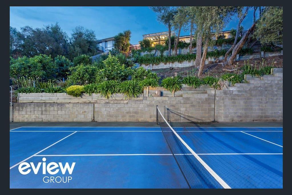 Tennis court (Half size)