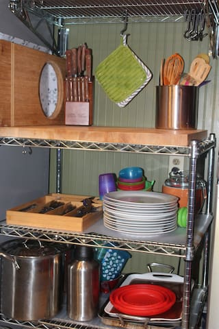We supply everything you need to cook right at home
