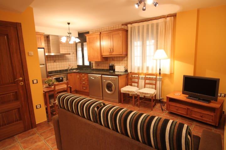 Apartamento rustico en el centro - Camprodon - Leilighet