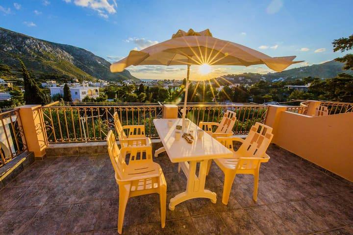 Aspro apartments Kalymnos - Panormos - Selveierleilighet