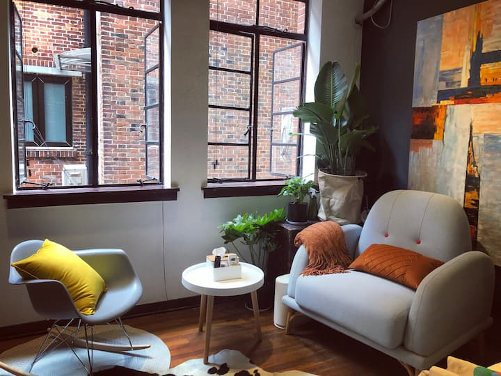 【长租优惠】在上海,窗明己净||Self revivified in cosy home