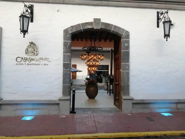 DUERME CON ESTILO-Zacatlán, Casa San Miguel