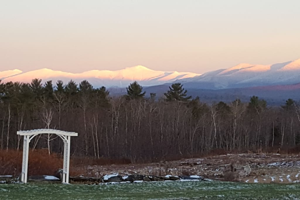 Mt Washington from the front deck