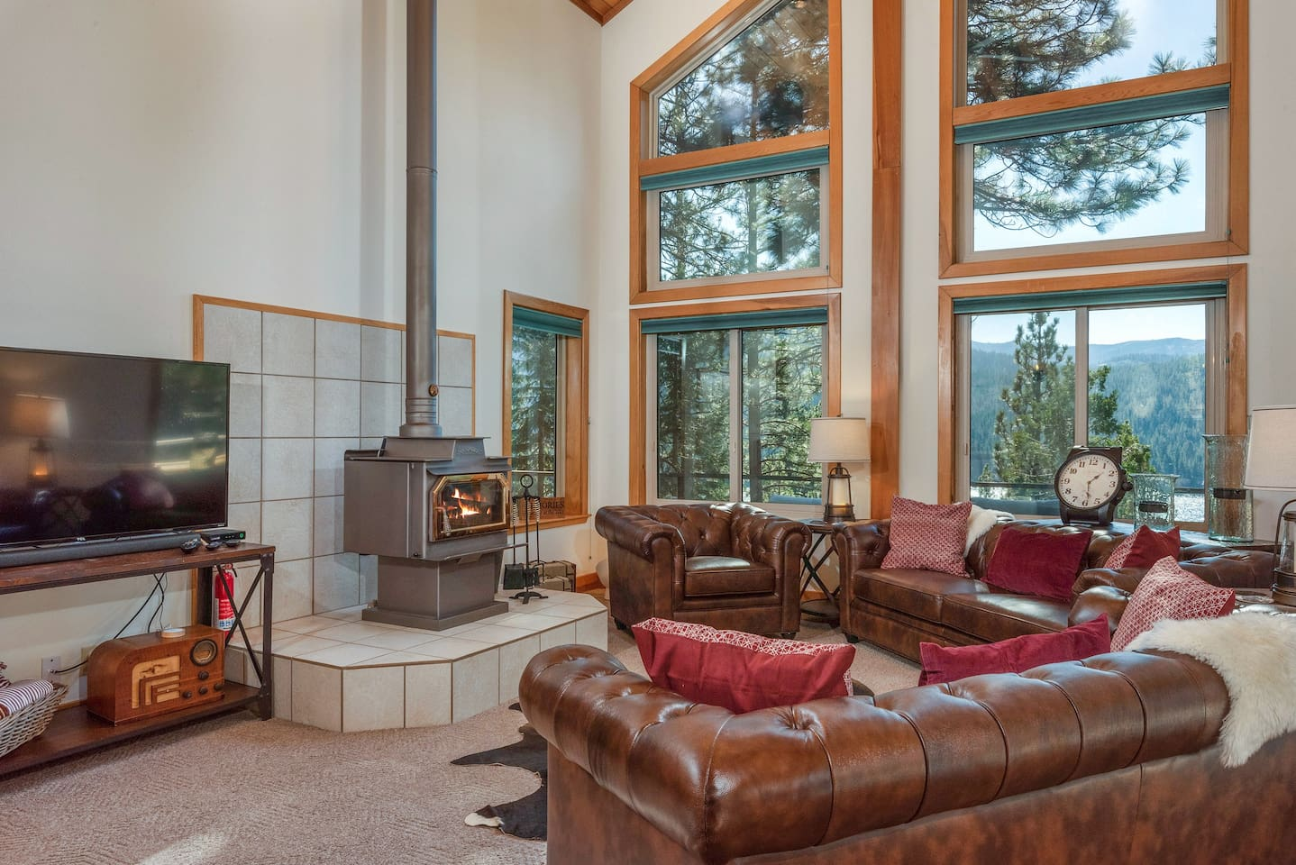 Welcome to Donner Lake! Your rental is professionally managed by TurnKey Vacation Rentals.