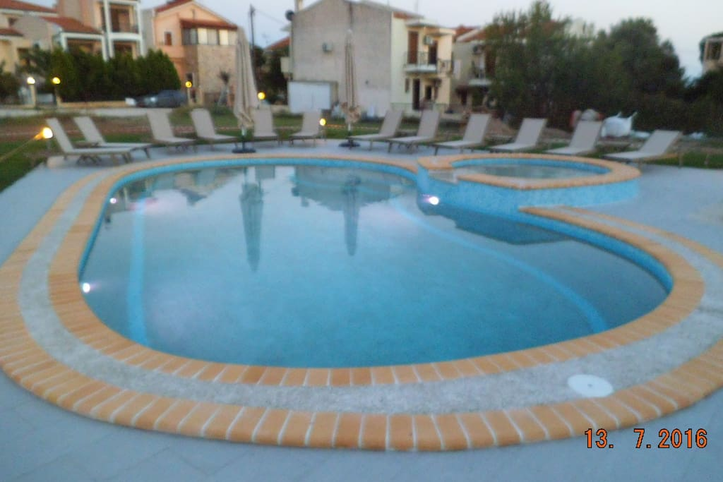 Pool without charge