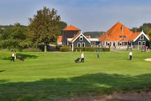 Play GOLF in SPAARNWOUDE (at 6km from cottage) at the public and largest golfcourse of Europe; 66 holes, 7 golf links, two 9-holes par 3 en -4 courses, covered and lighted drivingrange, 2 putting-greens etc. plus a nice restaurant and terrace