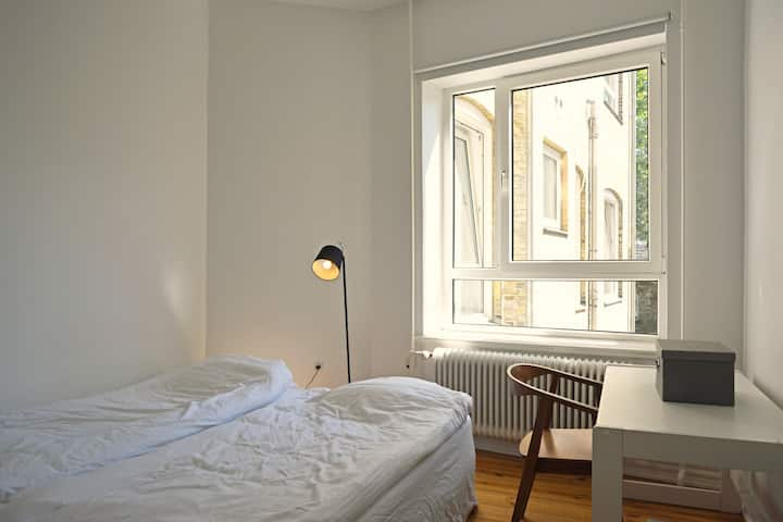 Two bedrooms in central Aalborg