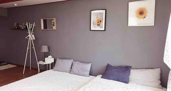 루희네하우스  예쁜 전망이 있는 dream room 입니다/커플룸/가족룸/연돈돈까스 근처
