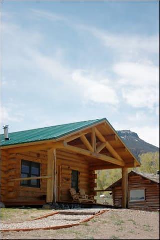 The Elkhorn Cabin.