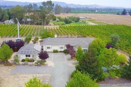 Large Charming Home Surrounded by a Vineyard