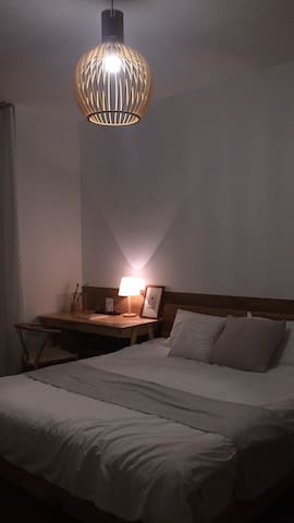 床上用品全部经主人精心挑选,舒适度是第一考量原则。