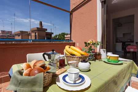 Charming Terrace in Rome, close to Trastevere - Roma
