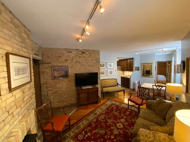 Exposed Brick Beauty in Downtown Condo