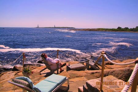 Ocean Front  3 or 2 BR house- Eden Roc by the Sea - Rockport - Maison