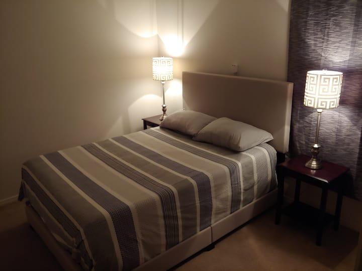 1st floor, double bed, snack counter, TV in room