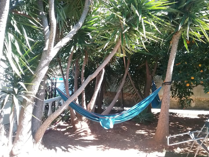 Hammock for 1, back to nature Carvoeiro Algarve