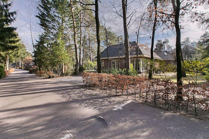 Vakantiehuis Veluwe 10 pers luxe Villa kindvriend.