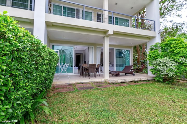 #Phuket#condo with private garden @Kata@karonbeach