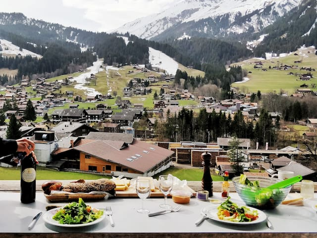 Lunch with beautiful view ♥