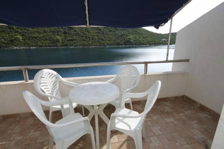 One bedroom apartment near beach Pasadur, Lastovo (A-8386-a)