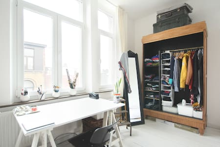Cosy and vintage apartment - Antwerpen - Apartment