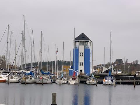 Ebeltoft, sydvendt feriebolig Øer maritime
