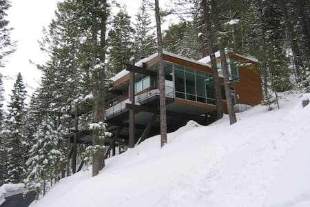 Sundance solitude in a glass treehouse - Sundance - Treehouse