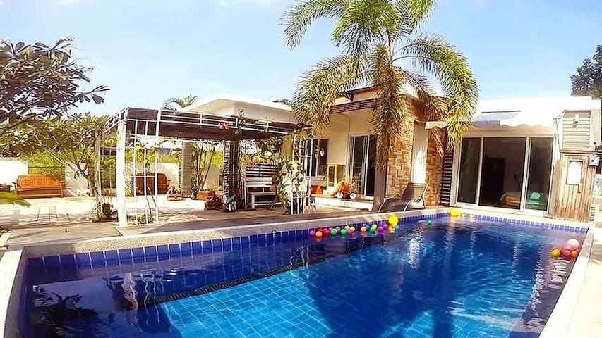 The Family Pool Villa - Tambon Hua Hin - Villa