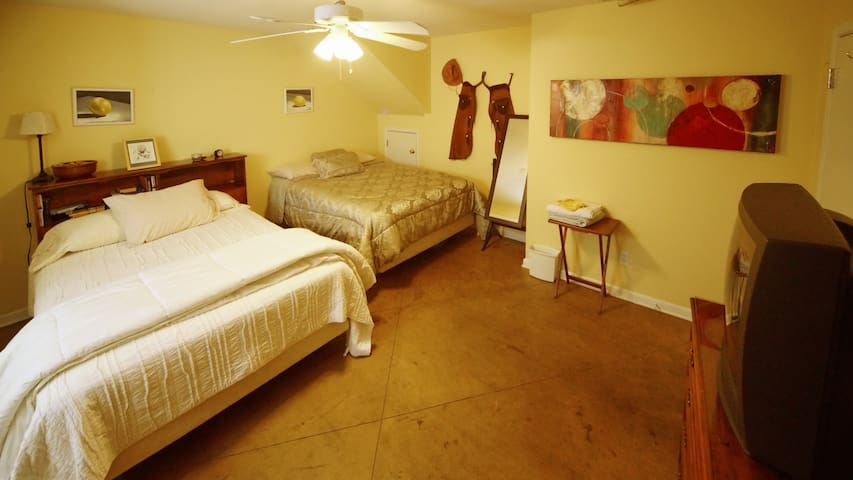 Zilker spacious bedroom - sleeps up to 4
