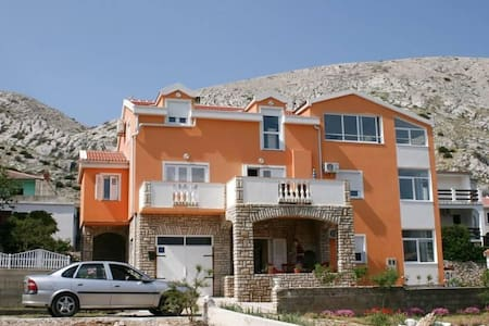 One bedroom apartment with balcony and sea view Pag (A-6412-b) - Pag