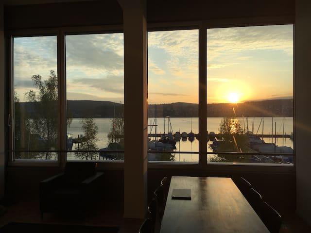 80m2 loft appartement with fabulous lake view - Zürich - Apartment