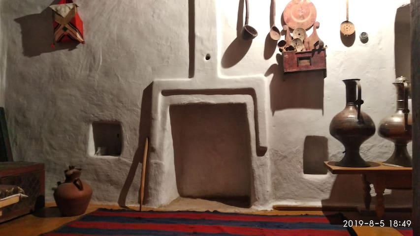Дом сохранённый в старинном стиле 18века