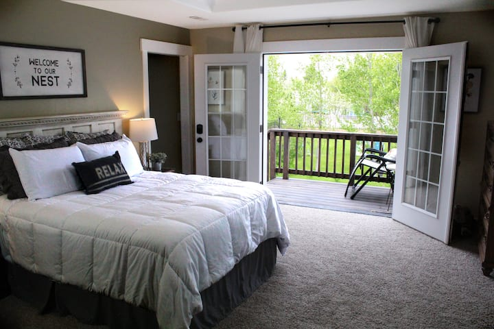 Relaxing Master Suite with Private Entrance