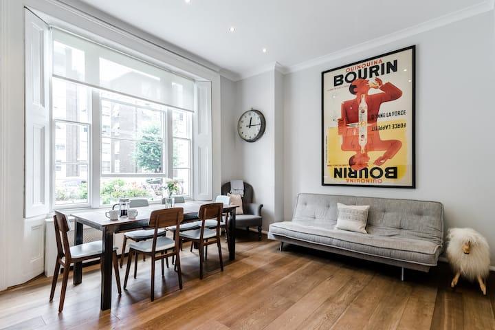 Stylish&Elegant 2 bed flat in Primrose Hill
