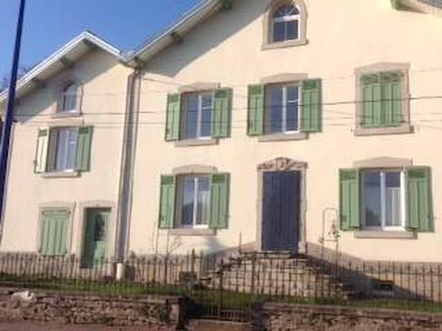 Maison indépendante - Bains-les-Bains - Apartamento