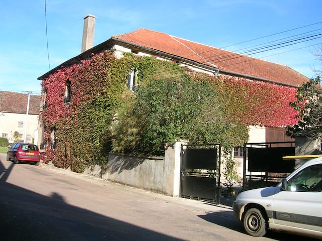 19th Century Village House in Burgundy - Asnan - House