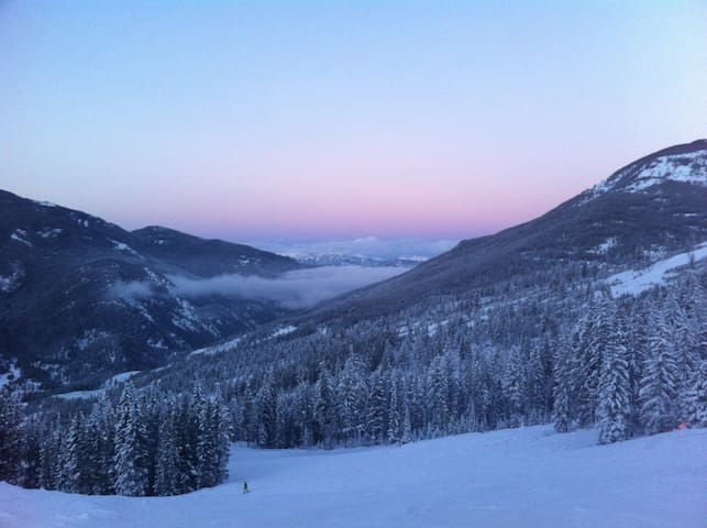 Comfortable 1 bedroom at the base of chairlift - Panorama - Appartement en résidence
