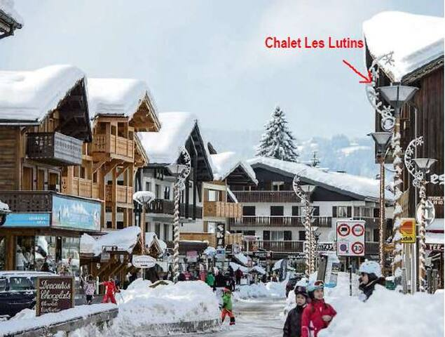 Appt for 4 people in the Chalet les Lutins - Les Gets - Flat