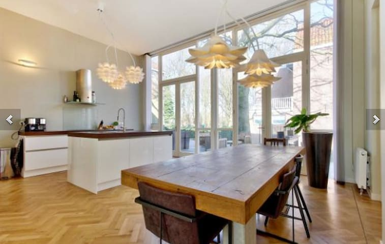 Great city apartment into the green - Haarlem