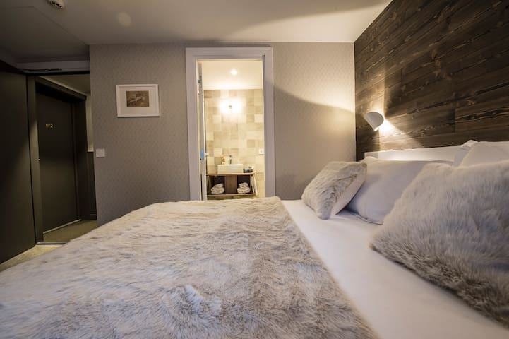 Le Whymper - Double superior room for 2 - B&B, Spa