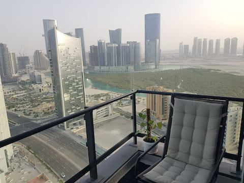 Unique, neat furnished studio with amazing seaview