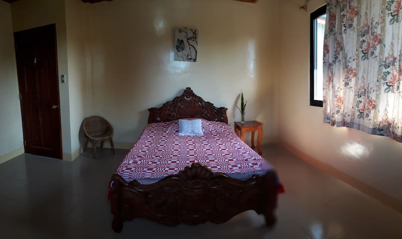 Our room, can accommodate upto 4 people.