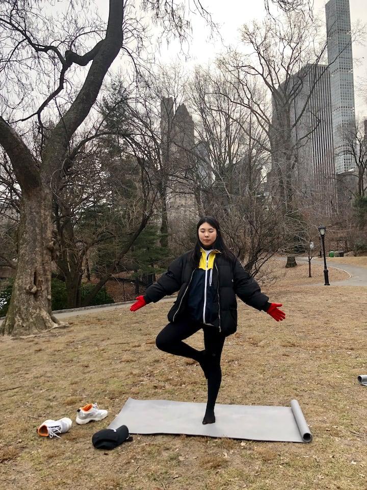 Feeling zen after a long weekend in NYC.